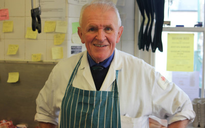 A Butcher's Tale: Interview with Bryan George of George's Butchers, Talgarth