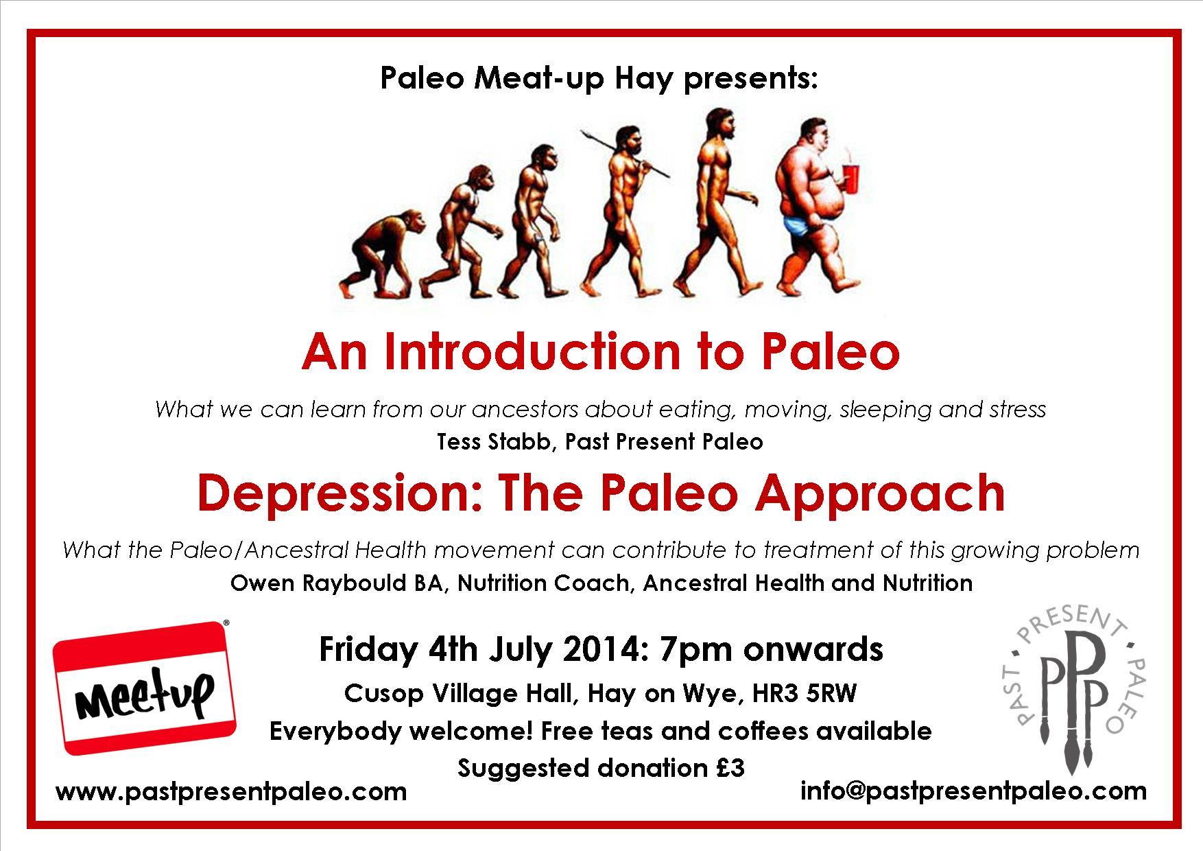 Paleo Meat-up Hay: July