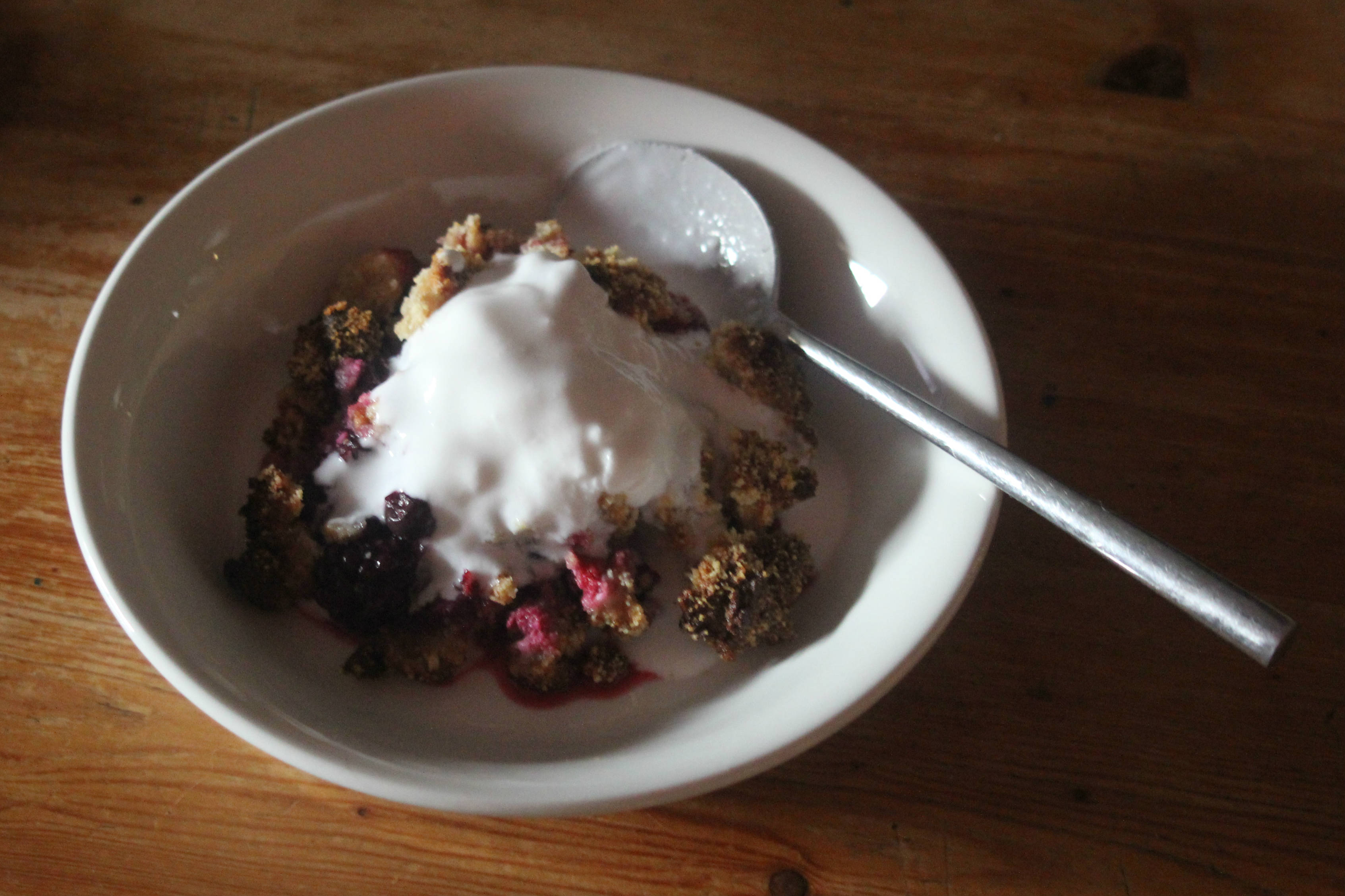 Berry Crumble 6