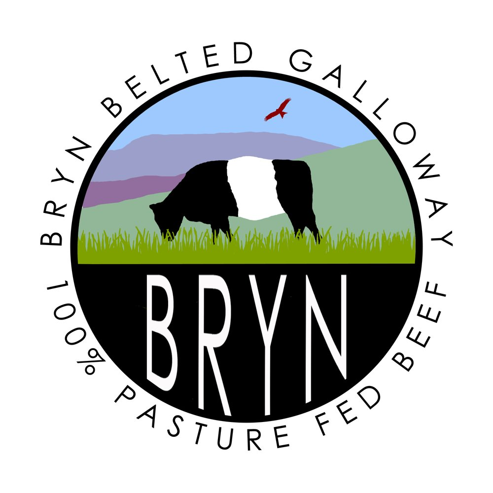 Bryn Belted Galloway 100% Pasture Fed Beef