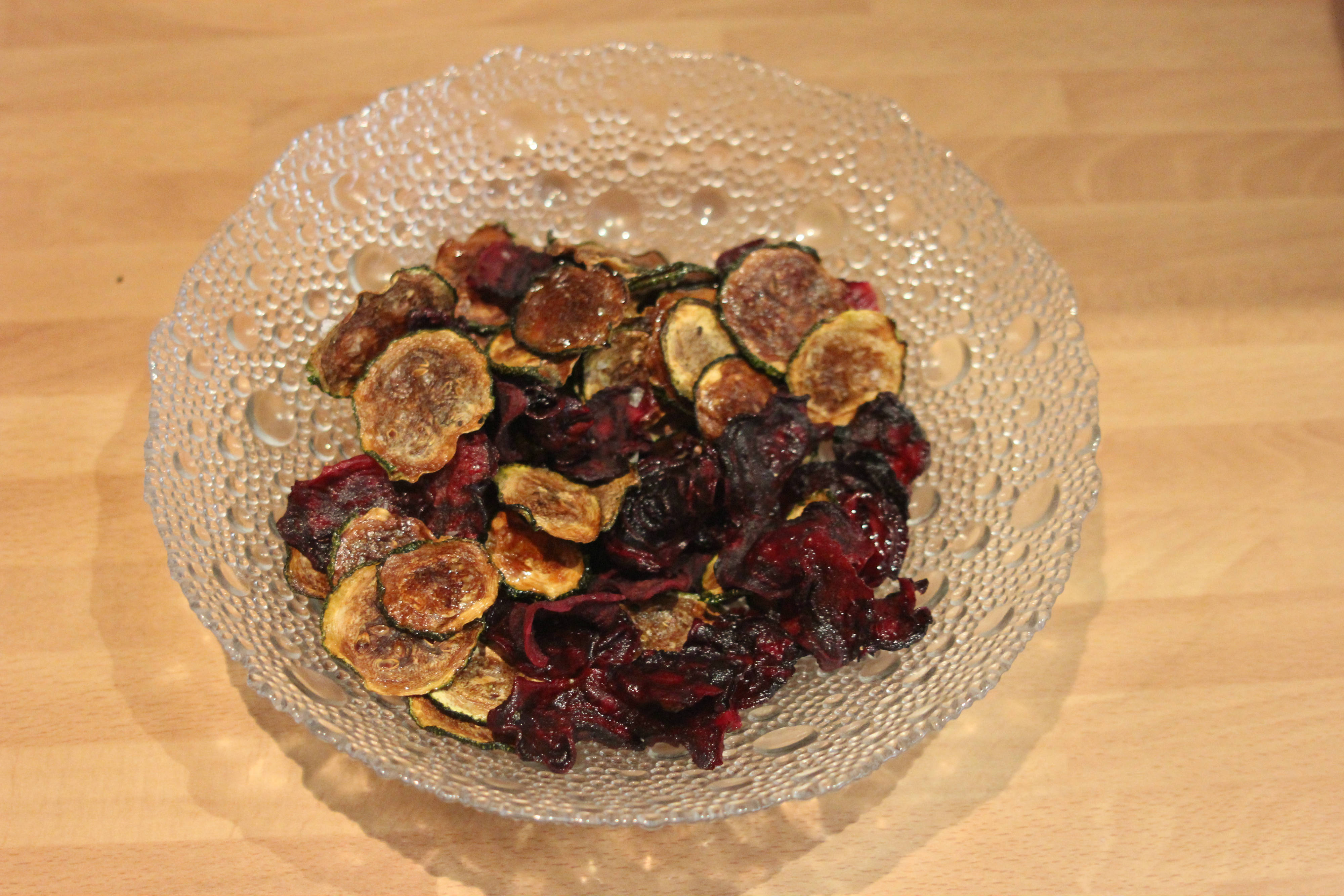Courgette and Beetroot Crisps 5