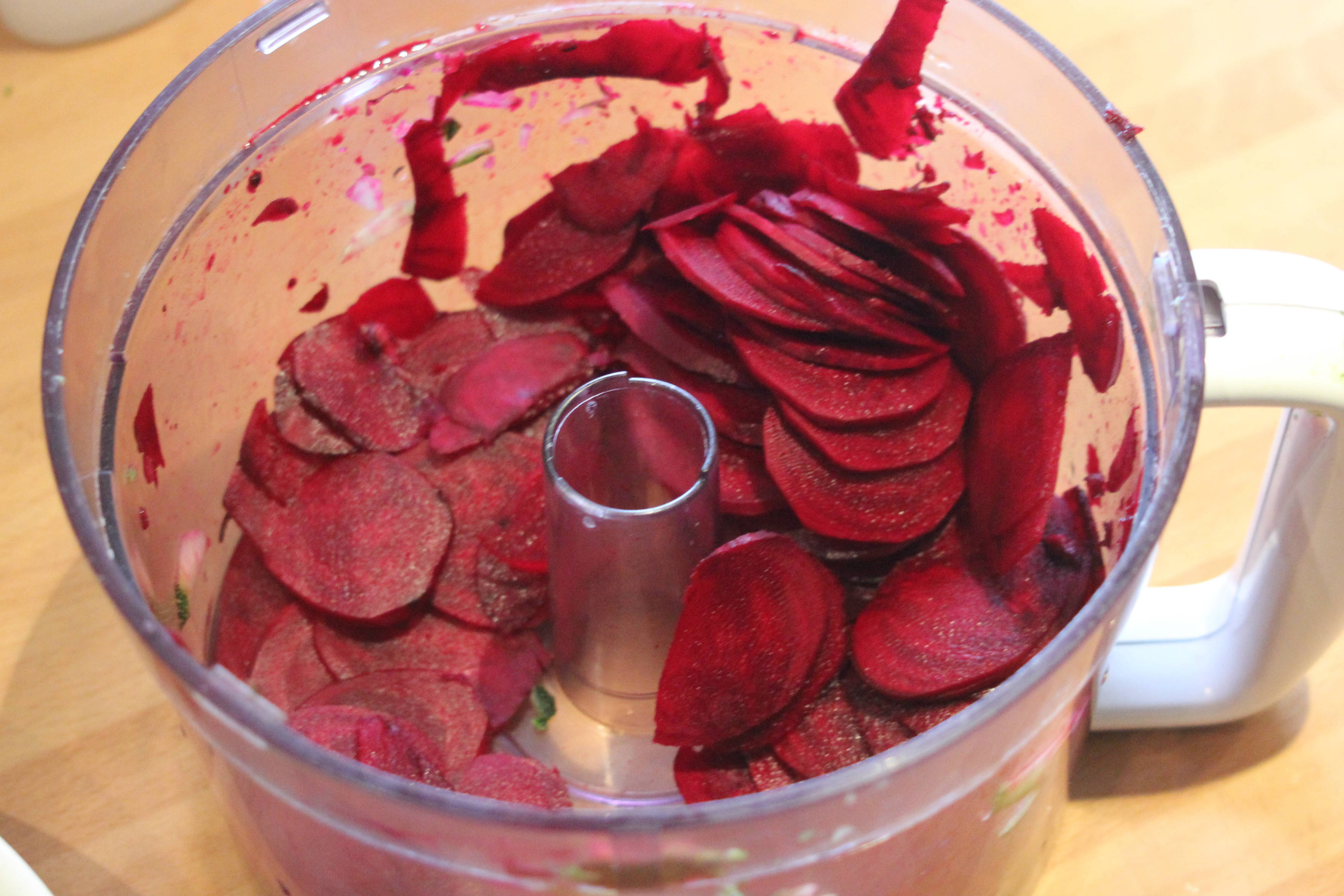 Courgette and Beetroot Crisps 1