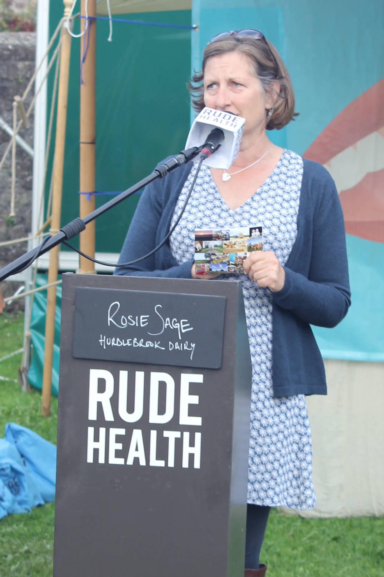 Rosie Sage of Hurdlebrook Dairy