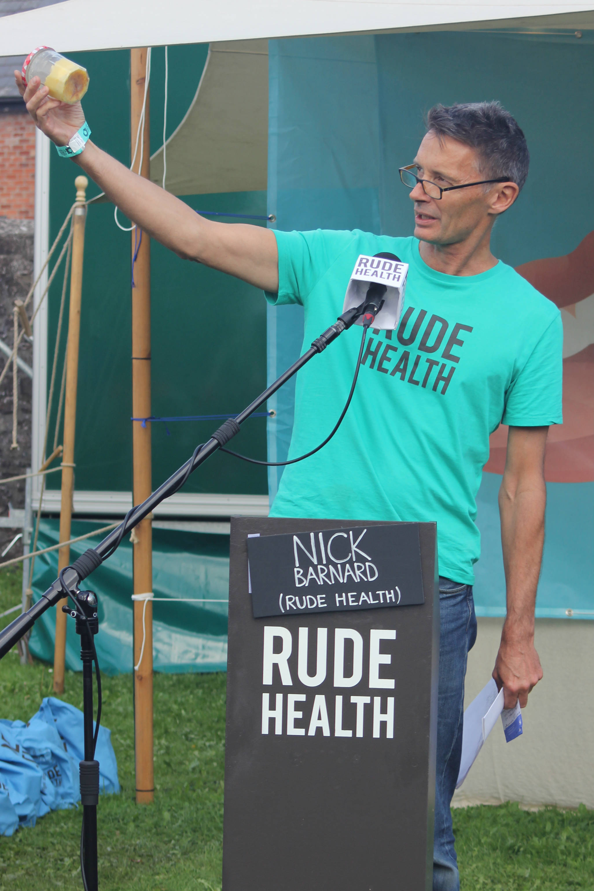 Nick Barnard of Rude Health